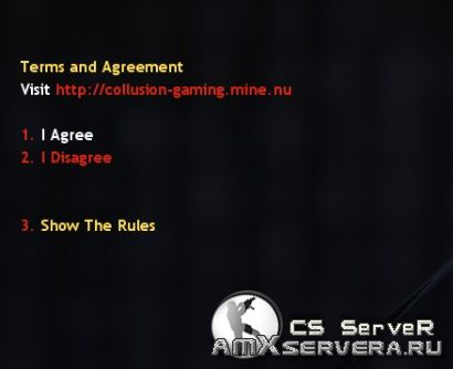 Terms and Agreement